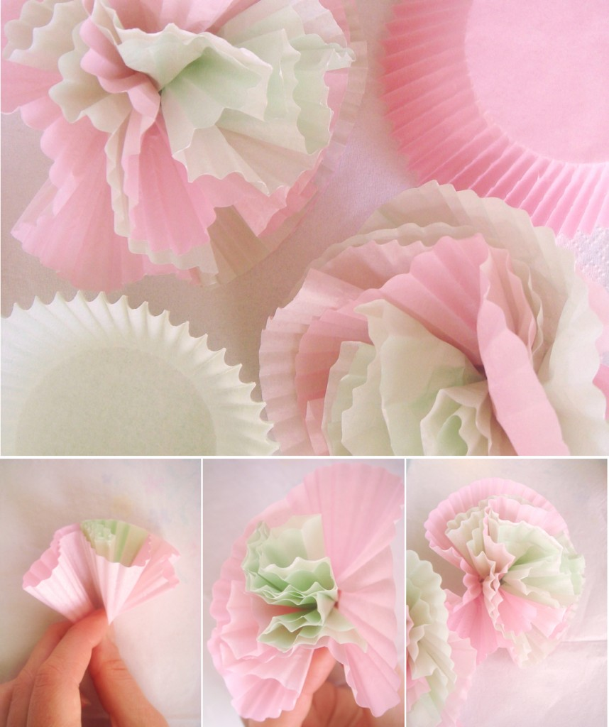 Tatamba blog de decoraci n c mo hacer pompones para - Como decorar una fiesta de comunion ...