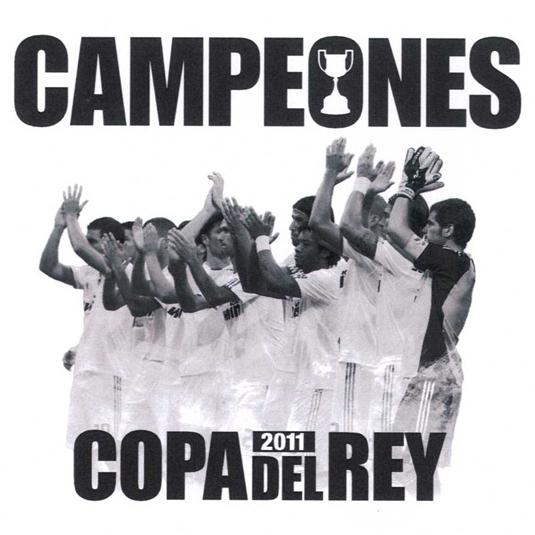 camiseta Campeones de la Copa del Rey 2011 Real-Madrid