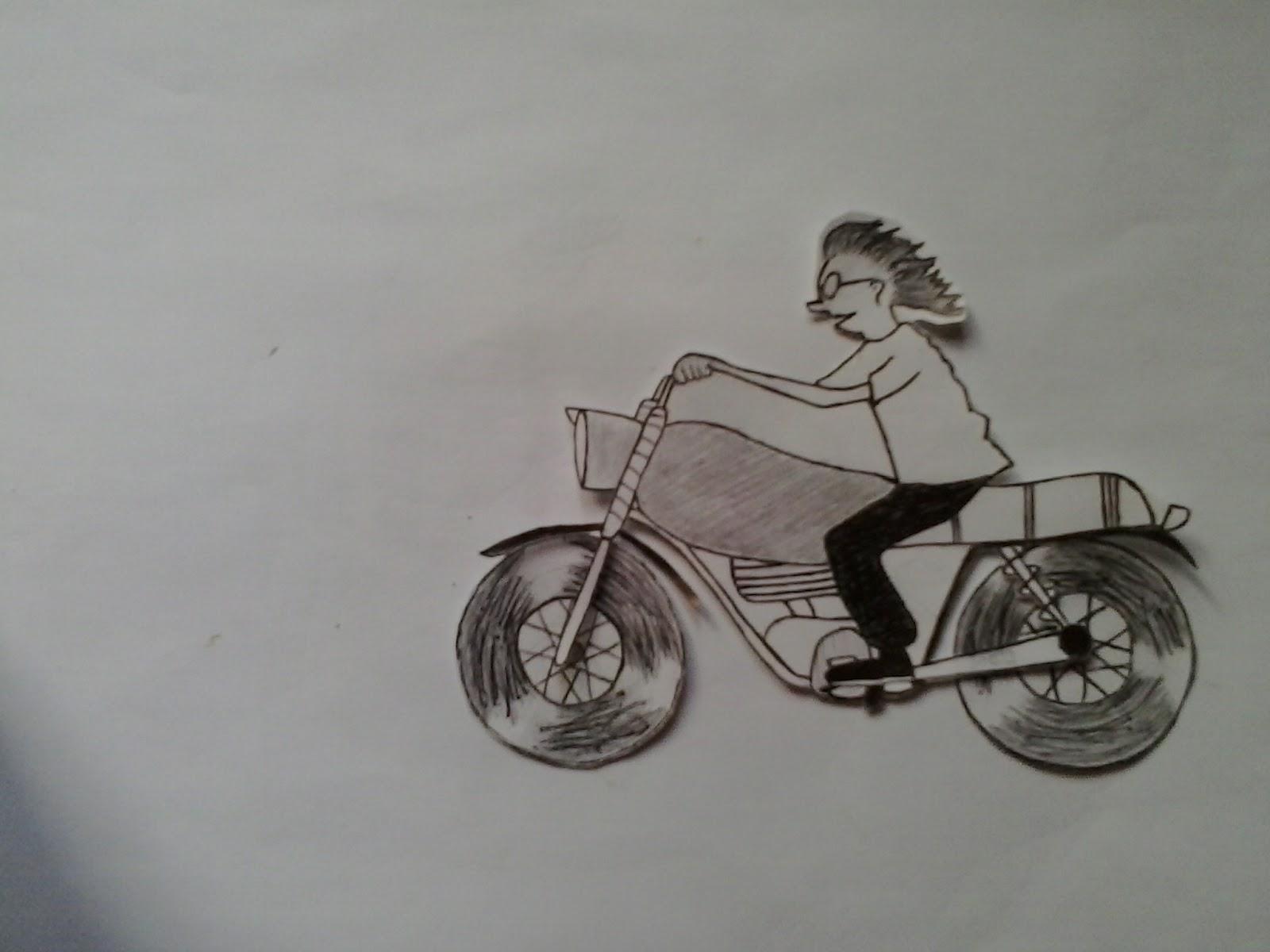 81 Gambar Motor Drag Dengan Pensil Terlengkap Ranting Modifikasi