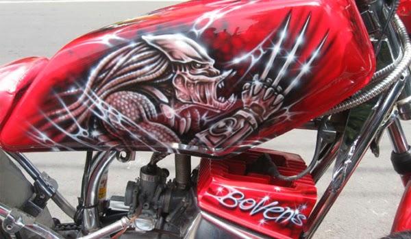 Kumpulan Foto dan Gambar Keren Modifikasi Yamaha RX King