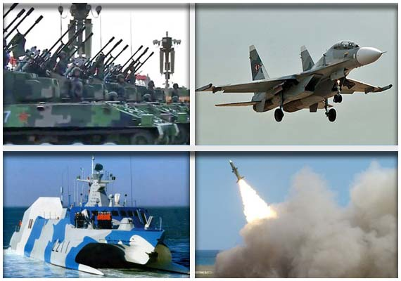 war news updates a look at chinas military weapons