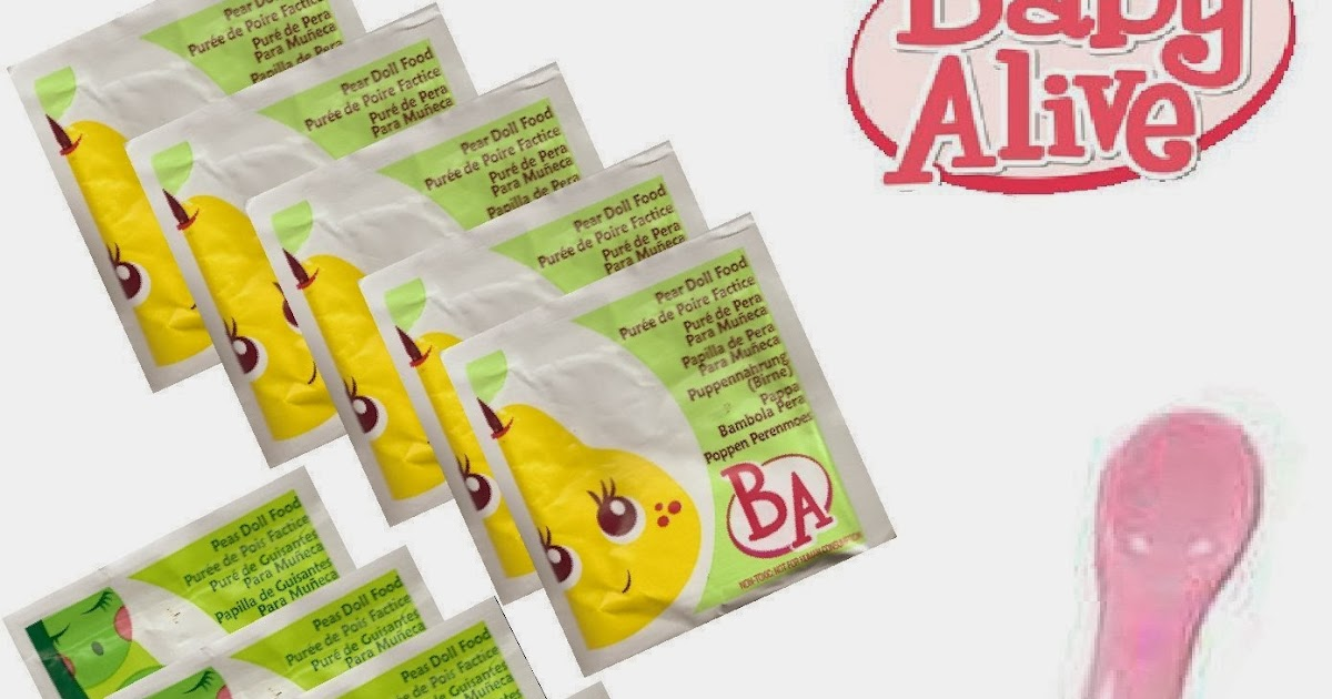 Fun With Baby Alive Sorbitol Baby Alive Food