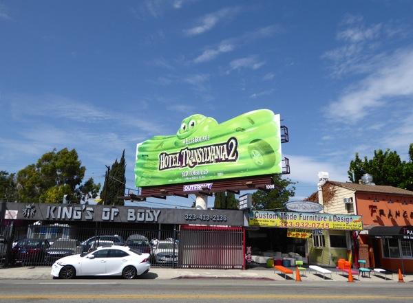 Hotel Transylvania 2 Blobby Steve billboard