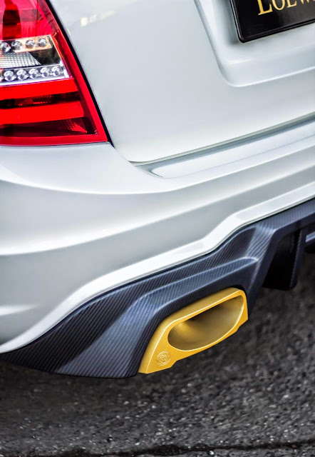s204 amg exhaust