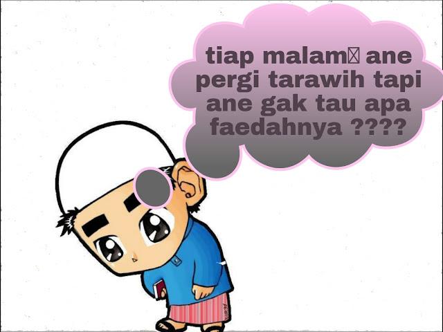 mamfaat shalat tarawih - lensaglobe.com