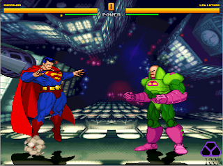 Superheroes 2000 Mugen Superman vs Lex Luthor