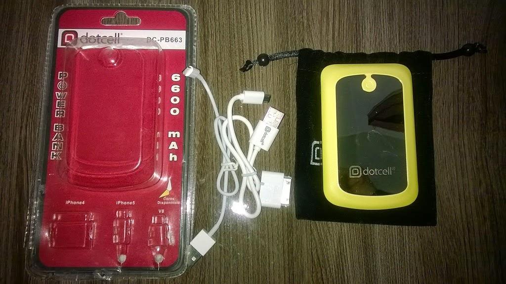 carregador portatil emergencia celular dotcell