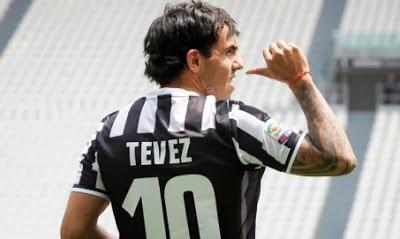 Tevez Number 10 Juve