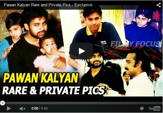Pawan Kalyan Rare and Private Pics