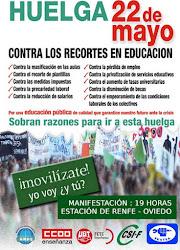 Huelga Educación Pública