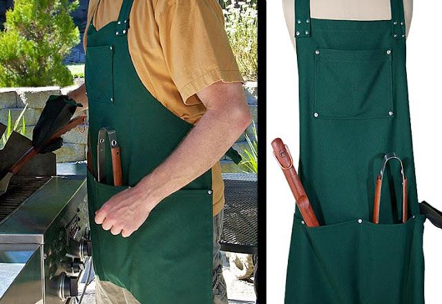 avental para churrasco com molde