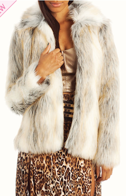 Faux Fur Coat Gojane