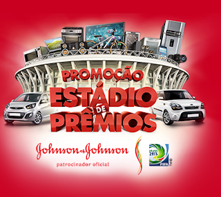 Promoção Estádio De Prêmios - Johnson & Johnson