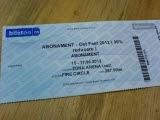 abonament OST Fest 15-17 iunie 2012 - Motorhead, Dimmu Borgir, Motley Crue - Zone Arena, Bucuresti