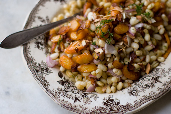 "EATING: "" Carrot, Dill and White Bean Salad "" (only with celery ..."