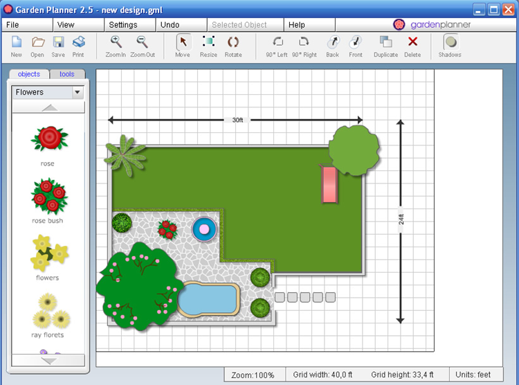 Primero arquitectura gardenplaner dise o de jardines online for Diseno de jardines online