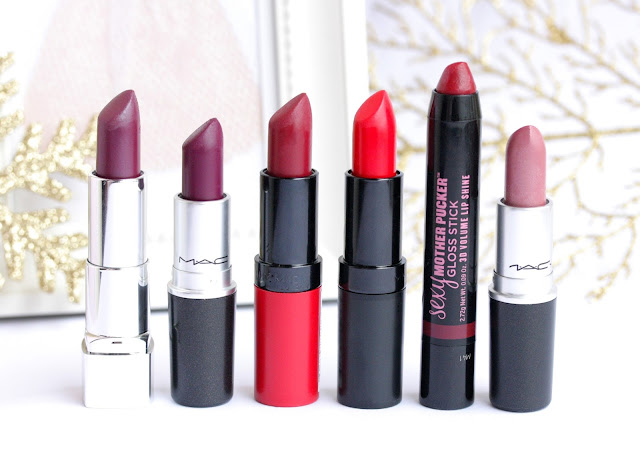 My Favorite Winter Lipsticks