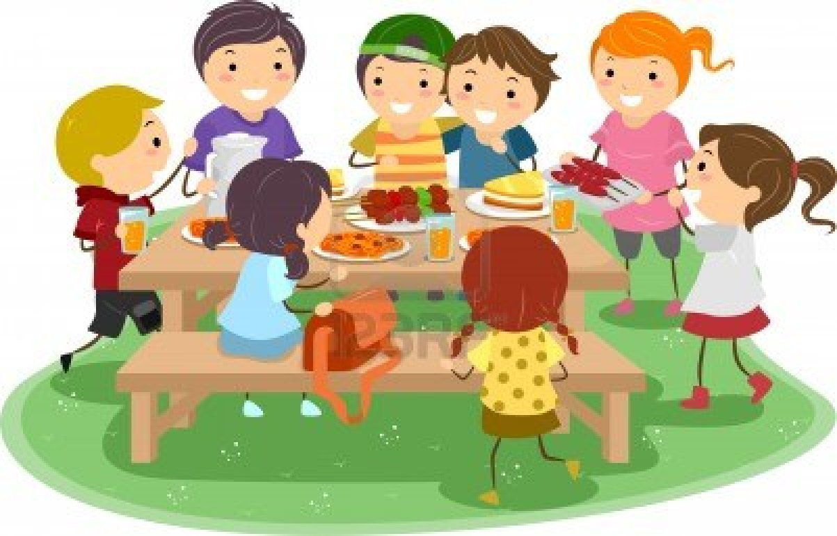 Unit 6  I love nutsKids Eating Breakfast At School Clipart