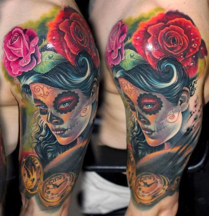 Catrina Tattoos Design Idea