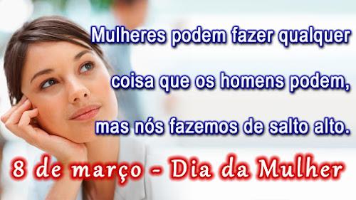 Imagens Com Frases Para O Dia Da Mulher Imagens E Frases