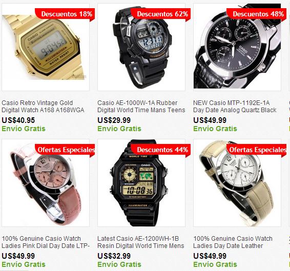 Comprar relojes en usa es facil utiliza nuestros servicios de compras por encargo o casillero internacional