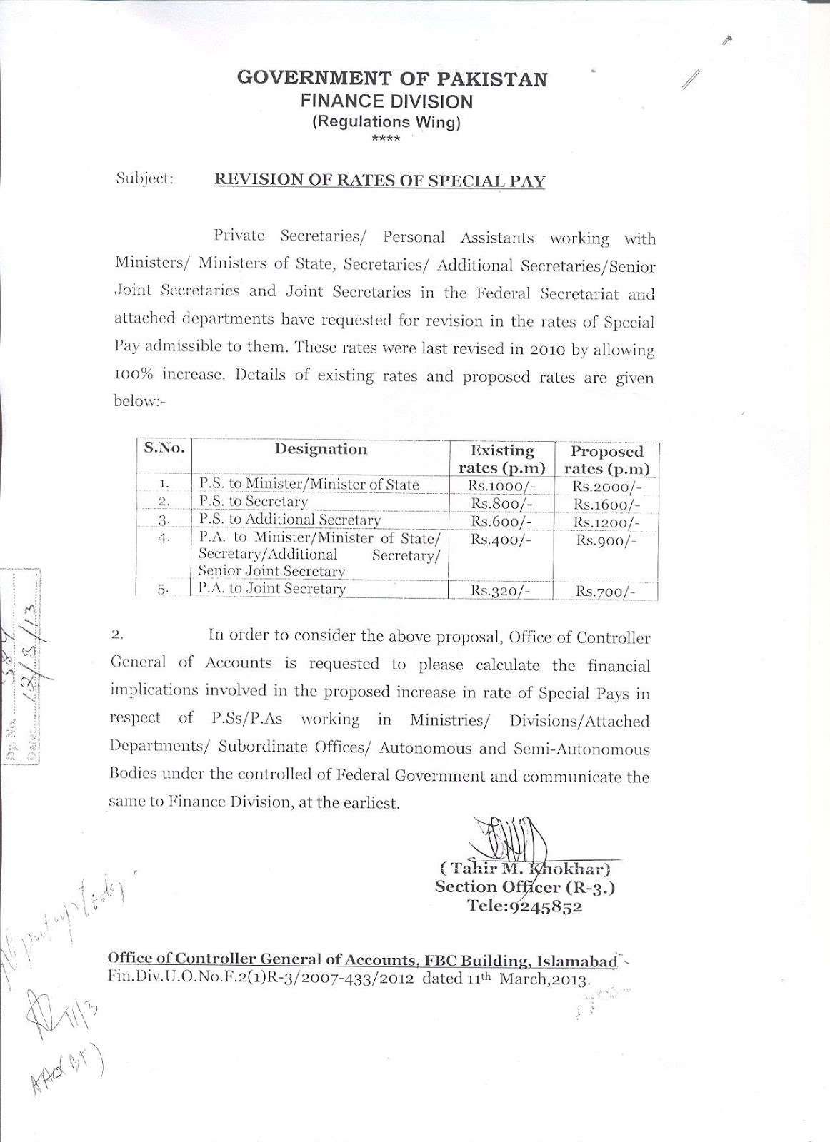 forum for stenographers special pay to aps erstwhile the request of enhancement of special pay is under process in the finance division islamabad hope for the best