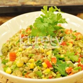 Bulgurlu Mercimek Salatası Tarifi