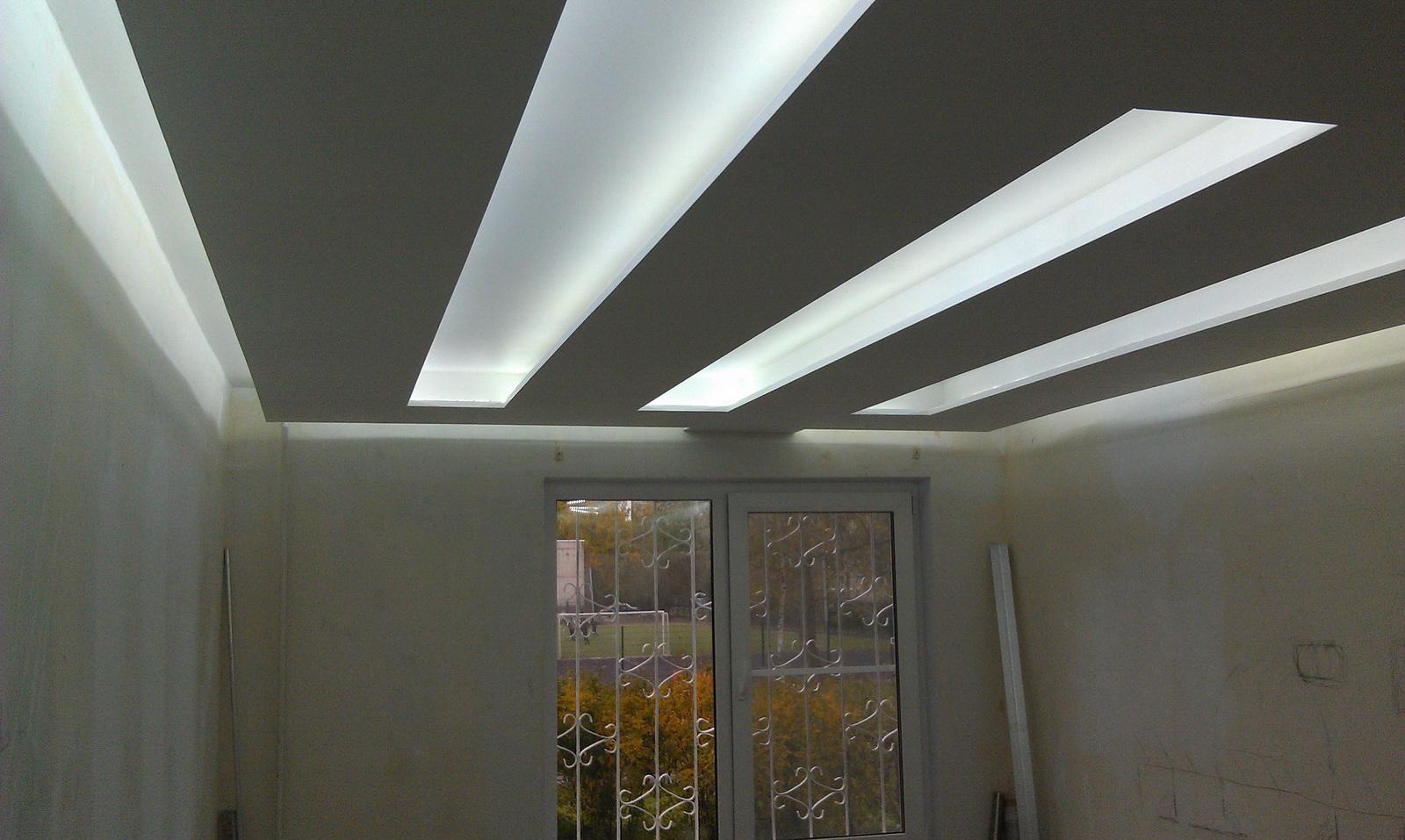 Светильник из светодиодных лент