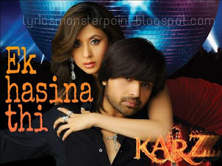 ek haseena thi song lyrics
