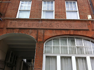 J.Welford & Sons, London W9