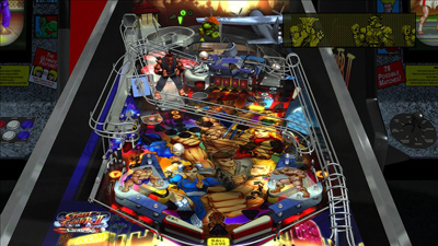 Zen Pinball voor PS3 - Streetfighter