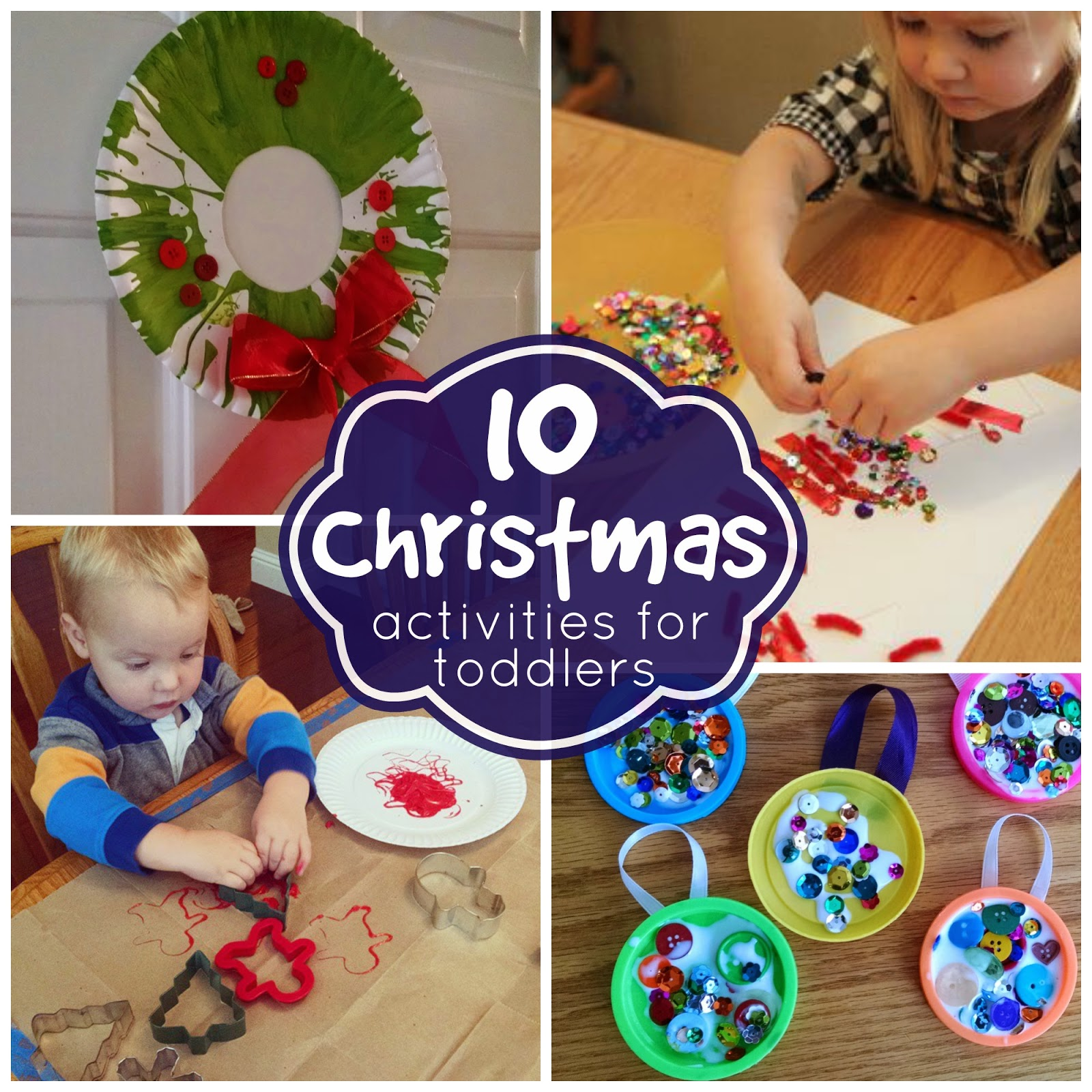 here are 10 of our favorite christmas activities for toddlers - Christmas Activities For Kids