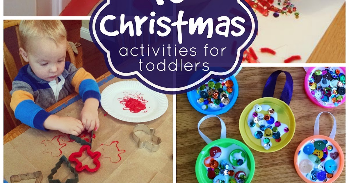 Toddler approved 10 simple christmas activities for toddlers for Christmas crafts for babies