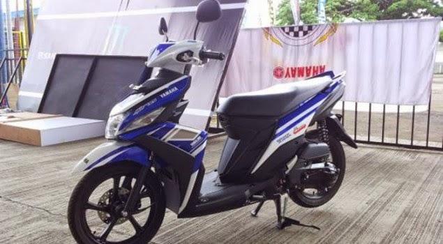 Yamaha Mio M3 Blue Core 2014 Versi MotoGP