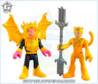 Imaginext DC Super Friends Cheetah & Sinestro Fisher-Price dc comics Legion of Doom