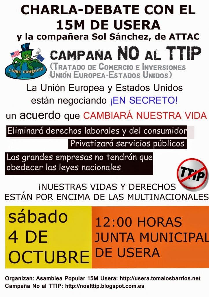 AAVV San Fermín: No al TTIP