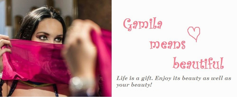 Gamila means beautiful