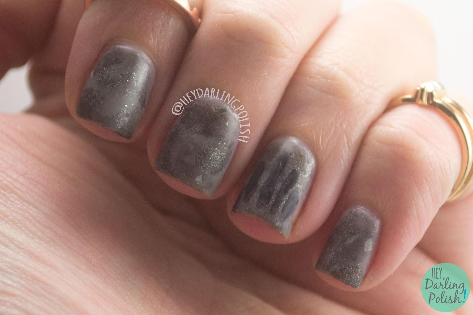nails, nail art, nail polish, grey, oceana, birth.eater, album art, hey darling polish, naillinkup, nail art ideas linkup, handprint