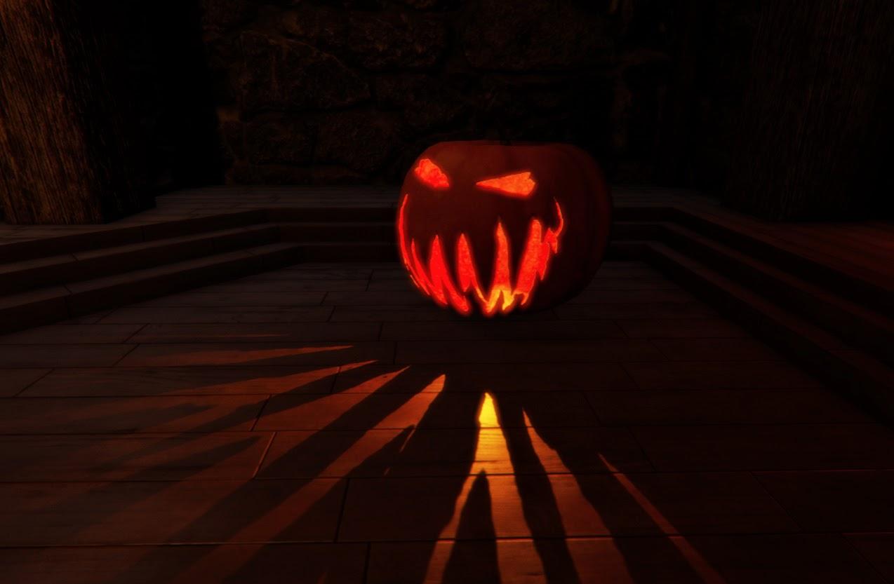 Pumpkin masked material