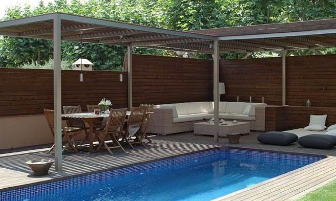 Os marcos do projeto arquitet nico terra os - Decoracion para piscinas ...