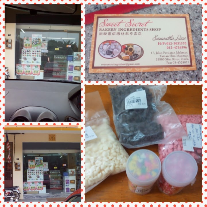 Kedai Kek Sweet Secret (Bakery Ingredient Shop) , Slim River.