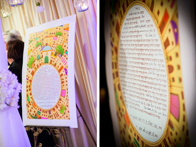 Glam Black Tie Jewish Wedding