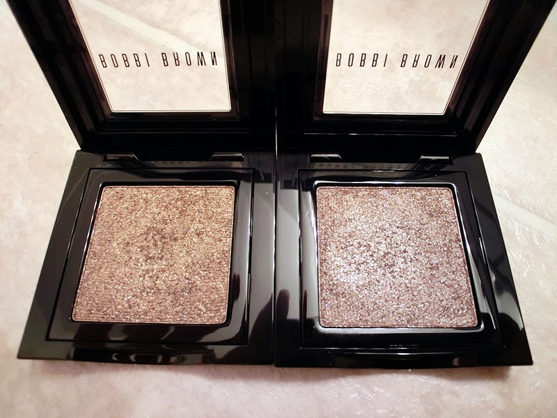 Review Bobbi Brown Sparkle Eye Shadow Cement Taupe My