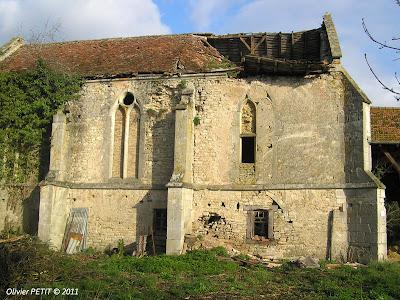 La chapelle templière de Libdeau en perdition