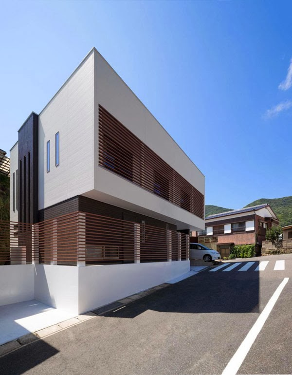 Casa minimalista en japon minimalistas 2015 for Casa minimalista japon