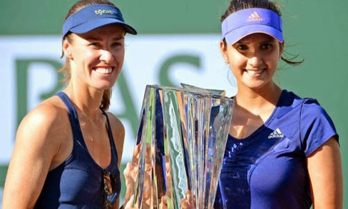 Sania-Mirza-and-Martina-Hingis wins Indian Wells Open