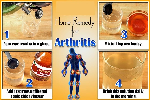 arthritis-home-remedy-apple-cider-vinegar