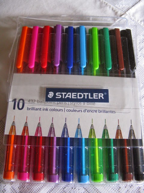 Staedtler Coloured Pens