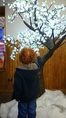 Christmas blossom tree