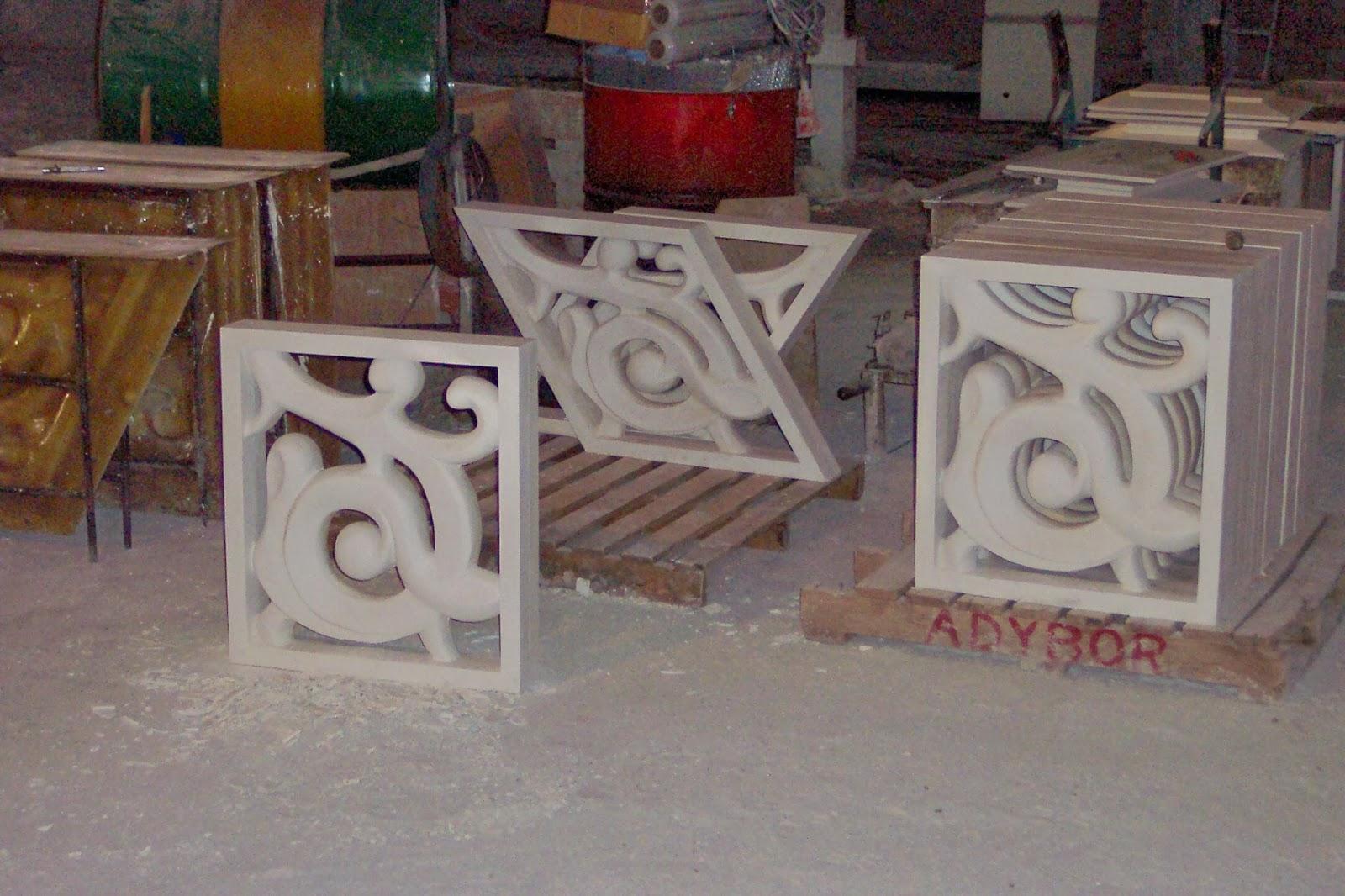 Moulds for artificial stone - Moldes para piedras artificiales ...